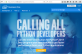 Intel® Python* on 2nd Generation Intel® Xeon Phi™ Processors: Out-of-the-Box Performance