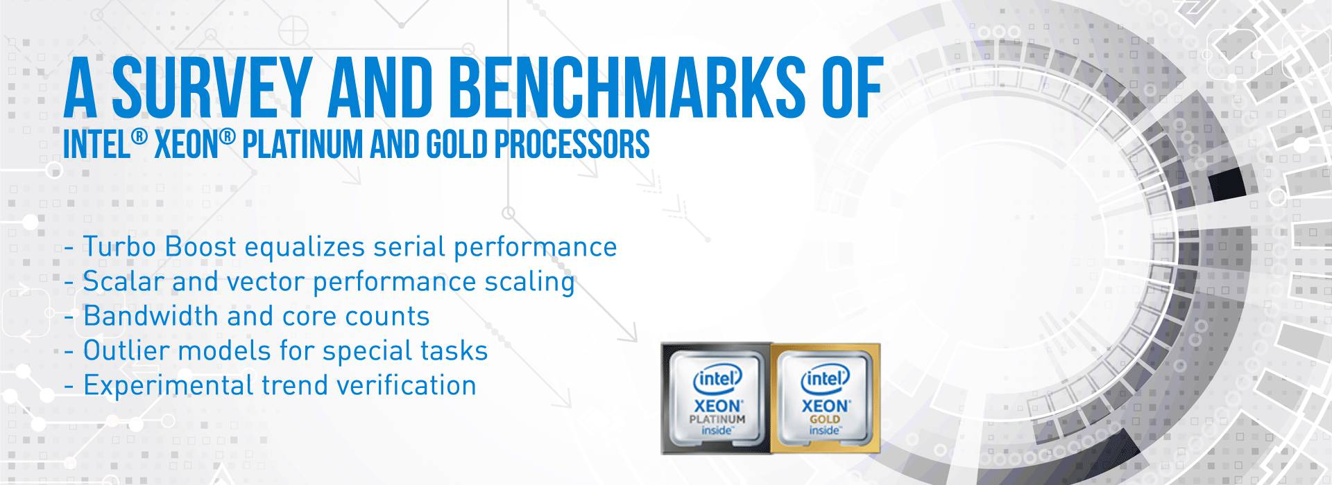 A Survey and Benchmarks of Intel® Xeon® Gold and Platinum